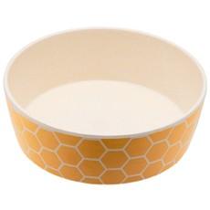 Beco Classic Bamboo Dog Feeding & Water Bowl, Honeycomb Large