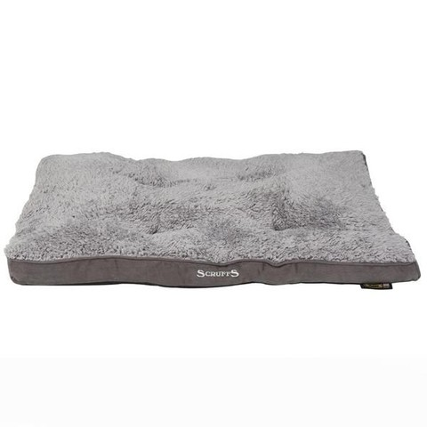 Scruffs Cosy Mattress Grey 82x58cm