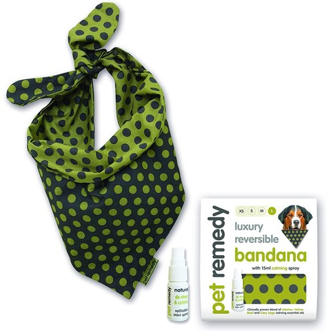 Pet Remedy Calming Bandana Kit Large
