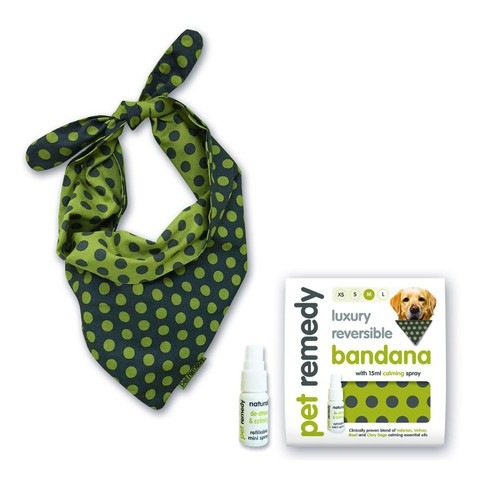Pet Remedy Calming Bandana Kit Medium