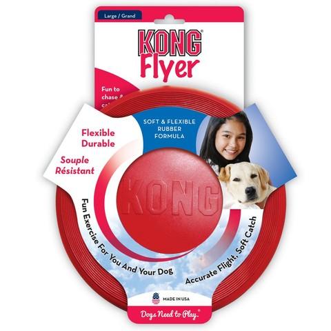 Kong Flyer Dog Toy Large