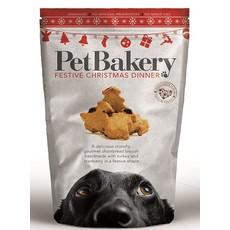 Pet Bakery Festive Christmas Dinner Dog Treats 190g