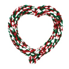 Happy Pet Christmas Rope Heart