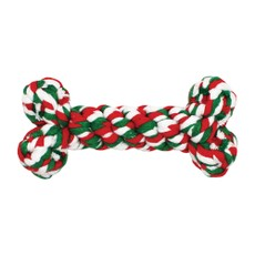 Happy Pet Christmas Rope Bone