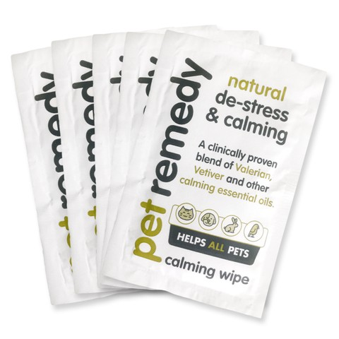 Pet Remedy Calming Wipes X 12 X 6