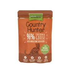 Natures Menu Country Hunter Superfood Grain Free Chicken And Goose Cat Pouches 85g