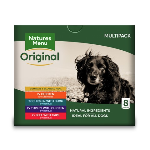 Natures Menu Dog Adult Multipack Pouches 8 X 300g