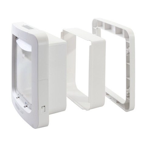 Sureflap White Cat Flap Pet Door Tunnel Extender Large