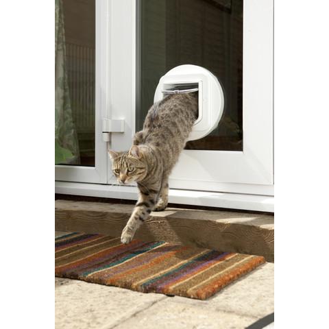 Sureflap White Dualscan Microchip Cat Flap